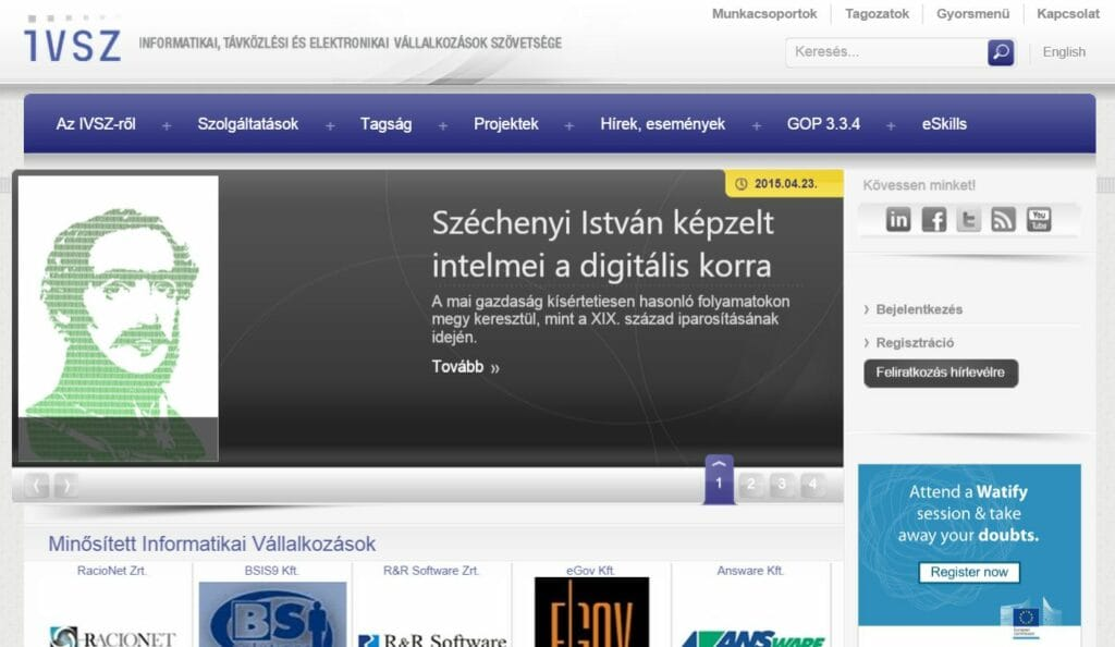 IVSZ.hu Archív oldal - archive.ivsz.hu