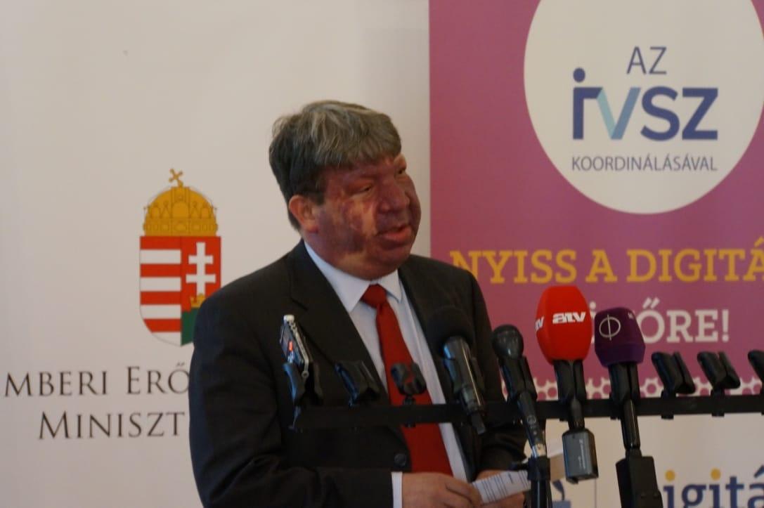 Vityi Péter, az IVSZ alelnöke