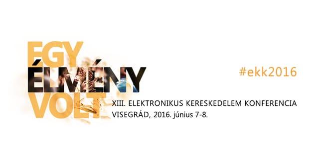 XII Elektronikus Kereskedelem Konferencia