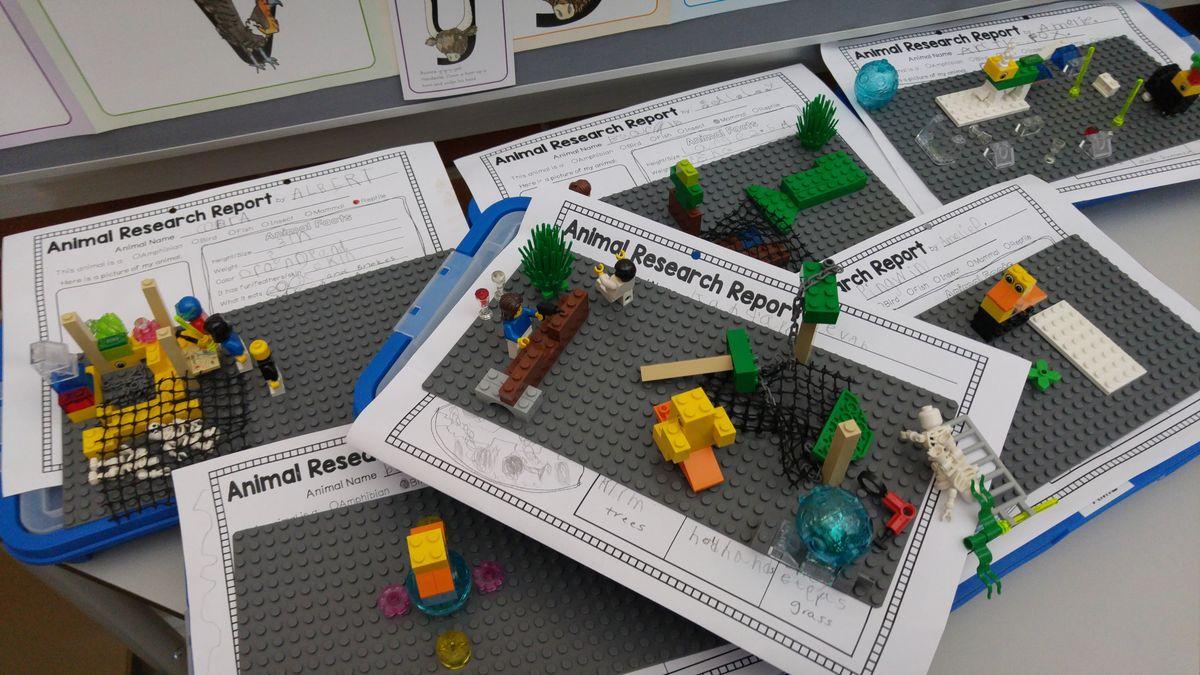 LEGO projektek