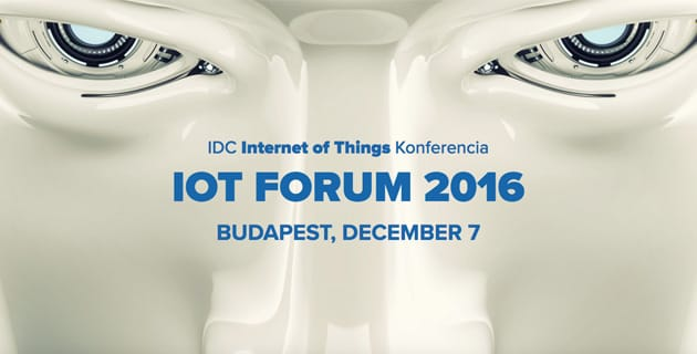 IDC Internet of Things Konferencia