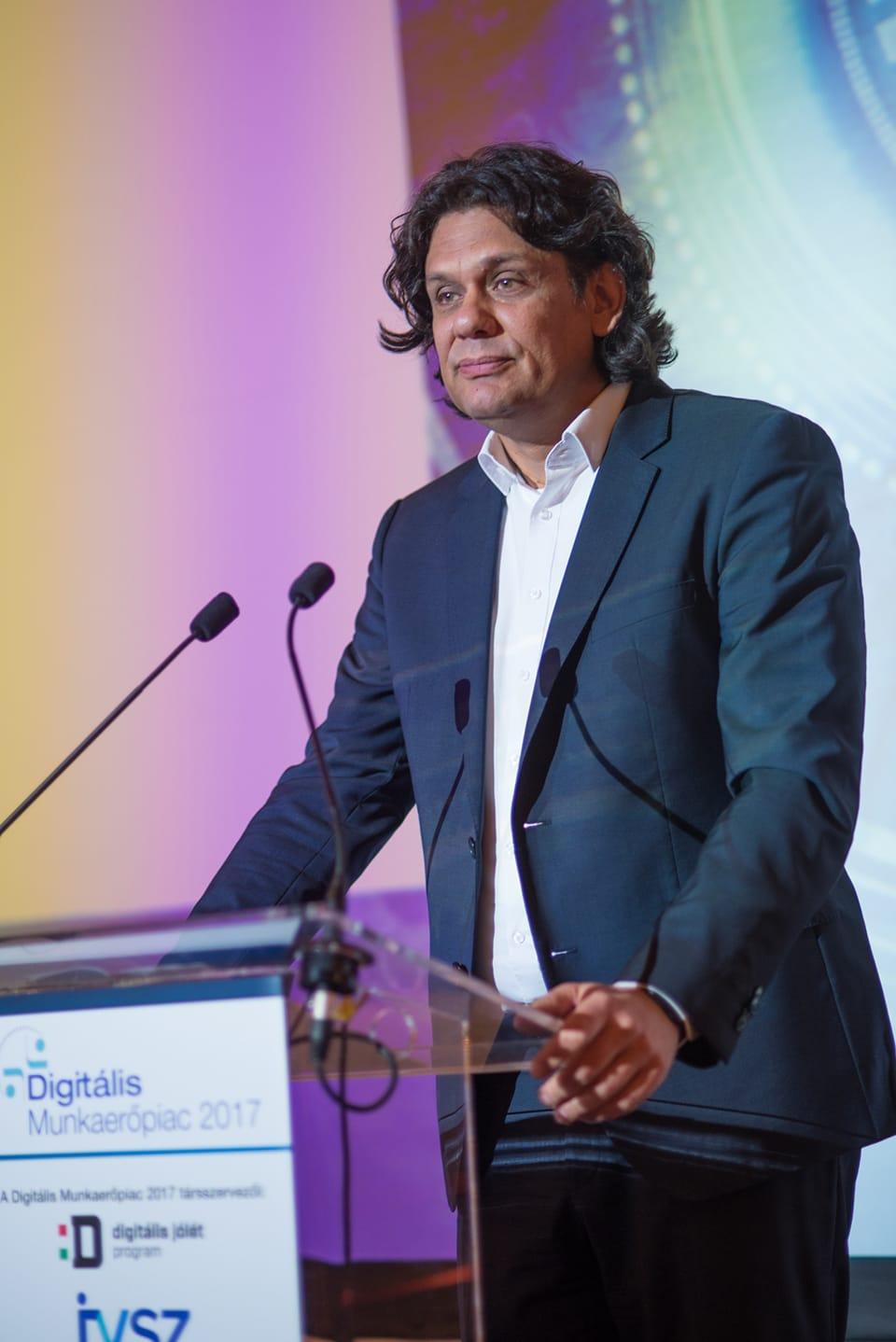 Deutsch Tamás, a Digitális Jólét Program megvalósításáért felelős miniszterelnöki biztos