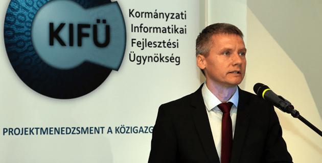 Kara Ákos, az NFM infokommunilációért felelős államtitkára