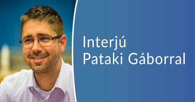 Interjú Pataki Gáborral