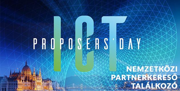 ICT Proposer's Day 2017 - Nemzetközi Partnerkereső Találkozó