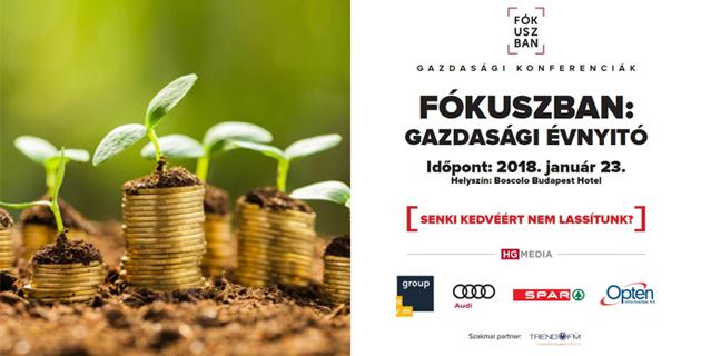 Gazdasági Évnyitó 2018 – szuperkonferencia a legújabb trendekről