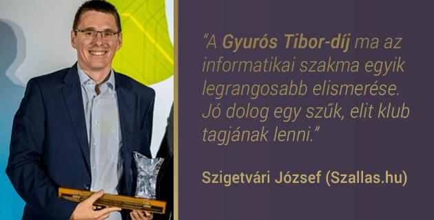Szigetvári József (Szallas.hu)