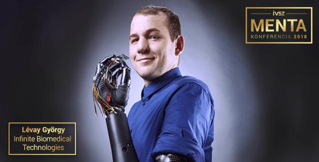 A kézzel fogható mesterséges intelligencia - Lévay György (Infinite Biomedical Technologies)