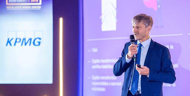 Ságodi Attila, vezetési tanàcsadásért felelős partner (KPMG)