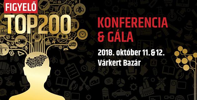 Figyelő top200 konferencia 2018
