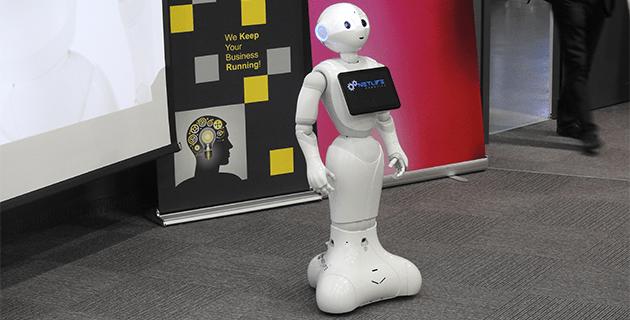 Datarena 2018 Pepper robot