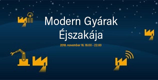 Modern Gyárak Éjszakája 2018