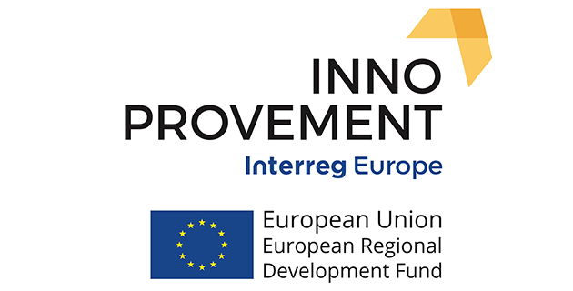 Inno provement EU flag logo