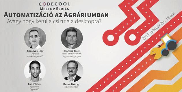 Codecool meetup - automatizáció az agráriumban 2019