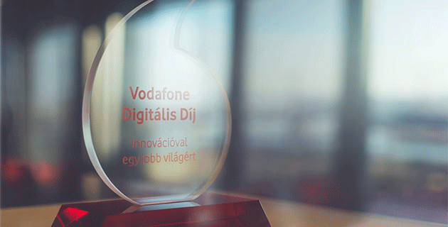 Vodefone Digitális Díj 2019