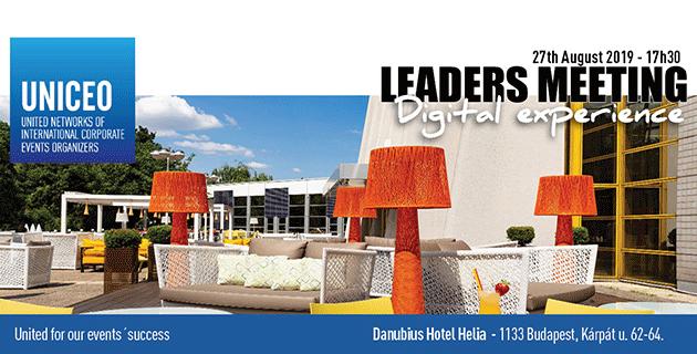 UNICEO Leaders meeting - digitális trendek 2019