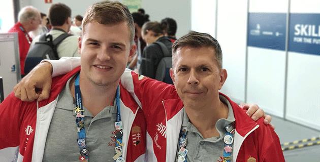 Balogh Ákos és Sisák Zoltán WorldSkills 2019