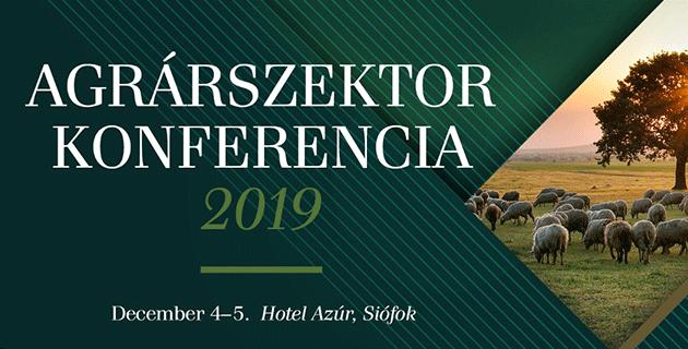 Agrárszektor Konferencia 2019