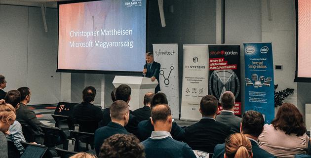 Christopher Mattheisen (Microsoft Magyarország)