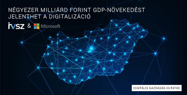 Négyezer milliárd forint GDP-növekedést jelenthet a digitalizáció