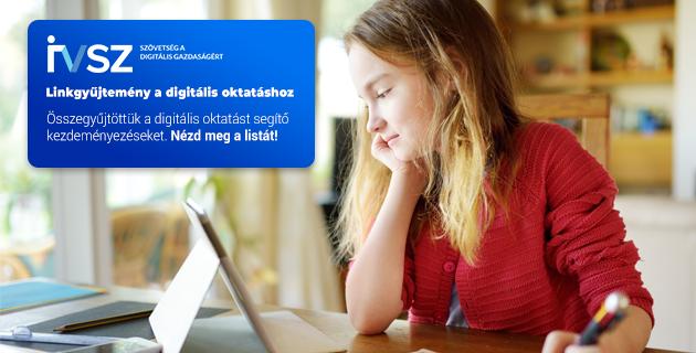 Digitális oktatást segítő kezdeményezések gyűjteménye