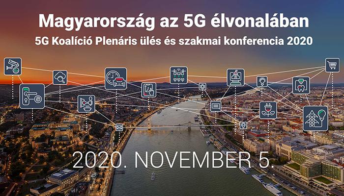 5G Koalíció plenáris ülés és szakmai konferencia 2020