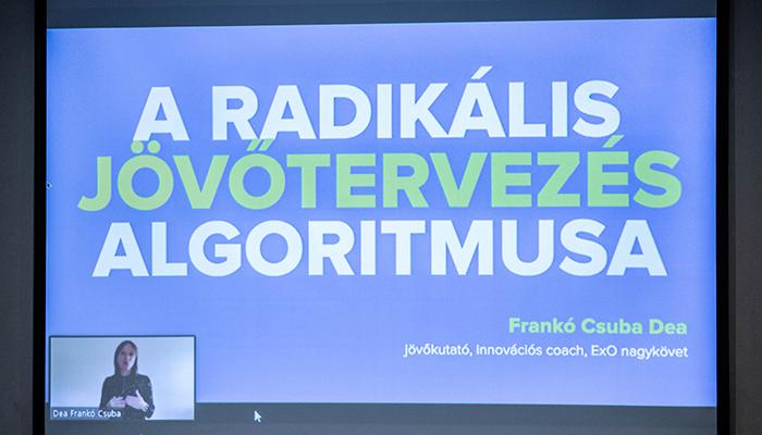 MENTA 2020 Frankó-Csuba Dea: A Radikális jövőtervezés algoritmusa