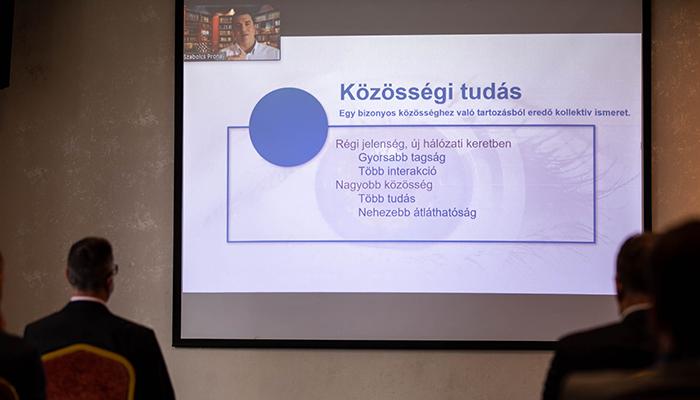 MENTA 2020 Prónay Szabolcs: Az online közösségek újult ereje