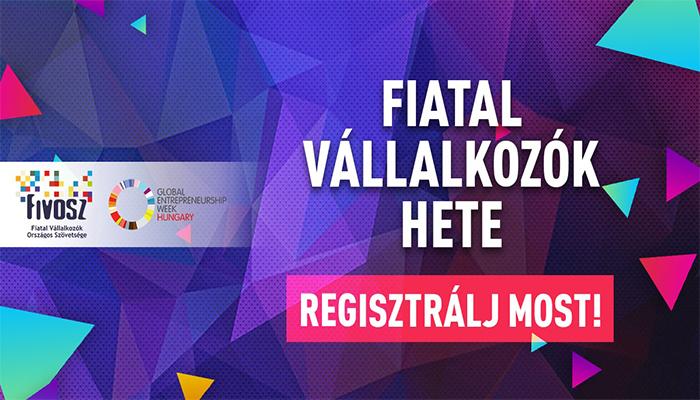 FIVOSZ Fiatal Vállalkozók Hete 2020