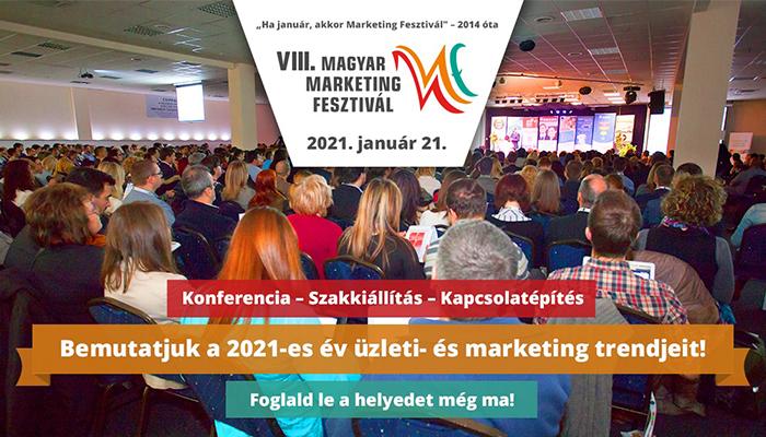 VIII. Magyar Marketing Fesztivál 2021
