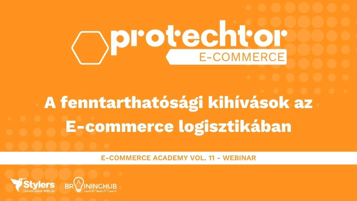 A fenntarthatósági kihívások az E-commerce logisztikában